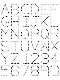 abc tracing sheet traceable alphabet nuttin but preschool