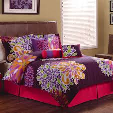flower show bedding comforter set purple  walmartcom