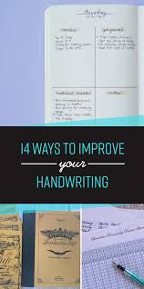 How To Practice Penmanship 14 Simple Ways To Actually Improve Your Handwriting