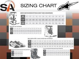 Alpinestar Tech 3 Size Chart Alpinestars Tech 3 Enduro Boots Black