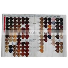 Issue Professional Color Chart International Salon Hair Color Chart With 104 Colors For