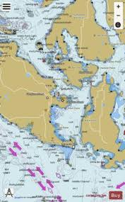 Nautical Charts San Juan Islands Wa San Juan Channel Marine Chart Us18434_p1941 Nautical
