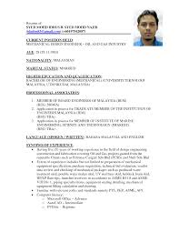 Merchant Marine Engineer Sample Resume 16 Data Center Science