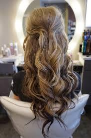 Wedding Half Up Hairstyles Curly Hair Half Up And Half Down Easy Wedding Half Updo