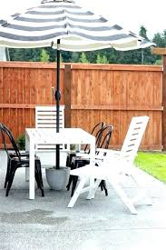 outdoor umbrella stand table side tables new patio or