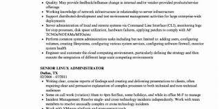 40 Weblogic Administration Sample Resume Ambfaizelismail