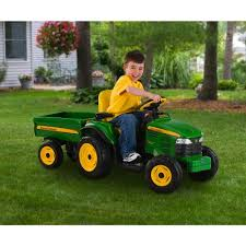 john deere turf tractor with trailer review