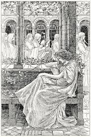Oldbookillustrations The Ash Maid From The