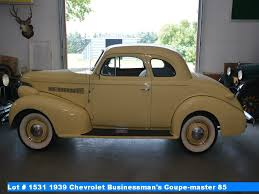 1939 Chevrolet Businessman's Coupe-master 85 (#9121711279)