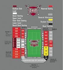 Troy University Stadium Seating Chart The Gaming Tailgate