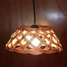 recycled lighting. basket pendant light repurposed fixture recycled lighting