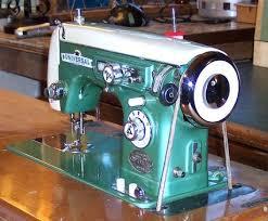 Super Deluxe Zig Zag Sewing Machine