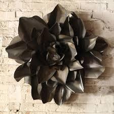 large metal floral wall art