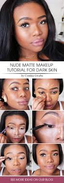 if you have dark skin we have a natural makeup look for you that from now on will bee your favourite makeup routine for sure are you interested