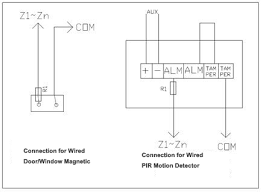 wiring the wired pir motion detector technology news How To Wire A Pir Light Diagram wired connection for wired detectors how to wire a pir light diagram