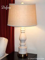 table lamp before