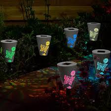 ideas for garden lighting. Solar Powered Outdoor Lights Wonderful Ideas For Garden Lighting A