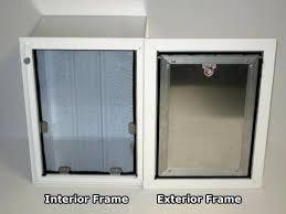 in the wall dog door glass guru installation cost ruff weather