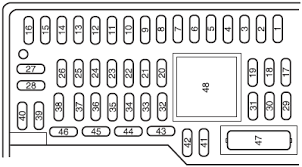 03 f350 fuse box ford f f super duty fuse junction bcm box relay 2006 F350 Fuse Box Diagram ford focus fuse box ford wiring diagrams online 2006 ford f350 fuse box diagram