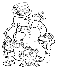 Here Our Free Christmas Coloring Pages