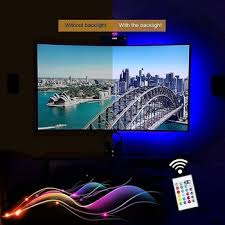 tv accent lighting. TV Backlight LED Lights Strip With USB Power 90cm RGB Multi Color Neon Accent Lighting System Tv