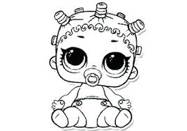 Lol Surprise Coloring Pages Spice Doll Coloring Pages Free Printable