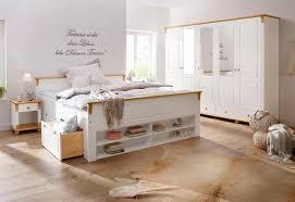Schlafzimmer Landhaus Möbel Komplett Schrank Und Bett Ascona