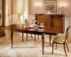 Tavolo Consolle Allungabile Classico : Tavolo da pranzo stile classico triseb
