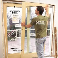 how to install glass in a door my