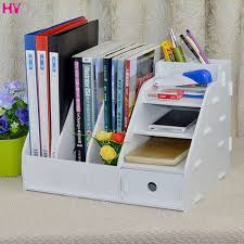diy office storage. Modern Fashion Office Desk Organizer DIY Wooden Storage Box Desktop Documents File Cabinets Diy G