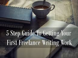 step guide to getting your first lance writing work make a   lance writing work header