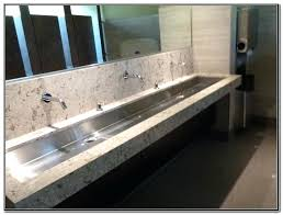 commercial bathroom sinks. Commercial Restroom Sinks Office Complex Airport Trough Pertaining To The Brilliant Vanity Bathroom I