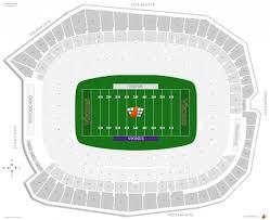 New Minnesota Vikings Stadium Seating Chart The Incredible Minnesota Vikings Seating Chart Seating Chart
