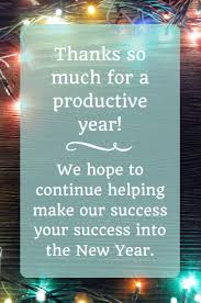 Office Christmas Wishes Business Thank You Messages Examples For Christmas Christmas