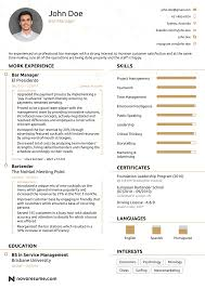 Example Of Good Resume With No Job Experience Krida Info Font