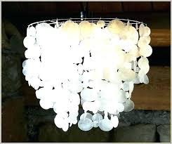 capiz shell chandelier cool with additional home remodel