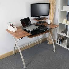 glass desk ivory costco uk