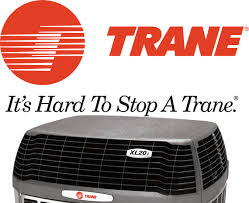 trane air conditioner. trane logo with air conditioner