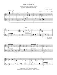 philip wesley sheet music in reverence hope endures sheet music philip wesley