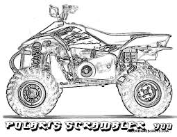 four wheeler coloring pages. Fine Wheeler 4 Wheeler Drawing 45 Lovely Of Four Coloring Pages Photograph Intended N