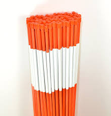 driveway marker snow stakes plow stakes reflective tape 5 16 diameter x 48 fiberglass orange 100 pack check this awesome by going to the link at
