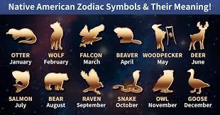 Animals Of The Native American Zodiac Astronlogia