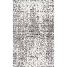 deedra grey 8 ft x 10 ft area rug