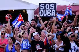 Cubans Rally in US in Support of ...