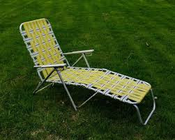 vintage chaise lounge lawn chair