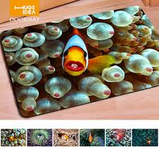 fashion welcome doormats 3d tropical fish print door mat,home ...