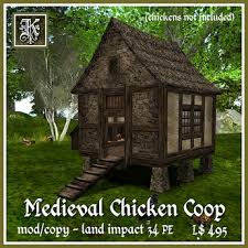 Kismet Medieval Chicken Coop