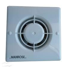 manrose xf100pir 100mm extractor fan with pir sensor control for bathroom wall ceiling