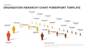 Organization Hierarchy Chart Template For Powerpoint And Keynote