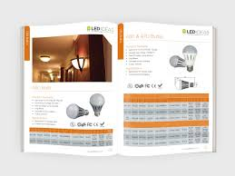 Led Ideas Came To Me For Their New Products Brochure Design To